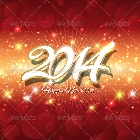 GraphicRiver Happy New Year Background 6421683