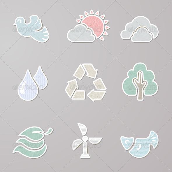 Sticker Nature Set