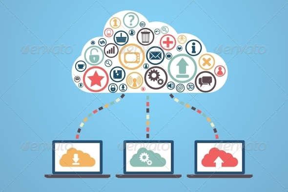 GraphicRiver Cloud Computing 6421705