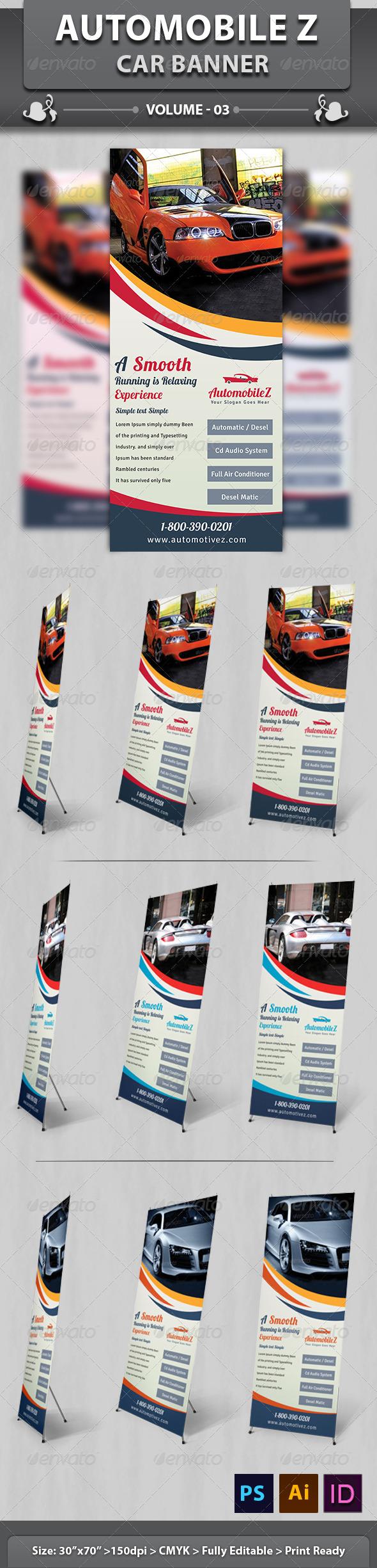 GraphicRiver AutoMobileZ Car Banner v3 6421735