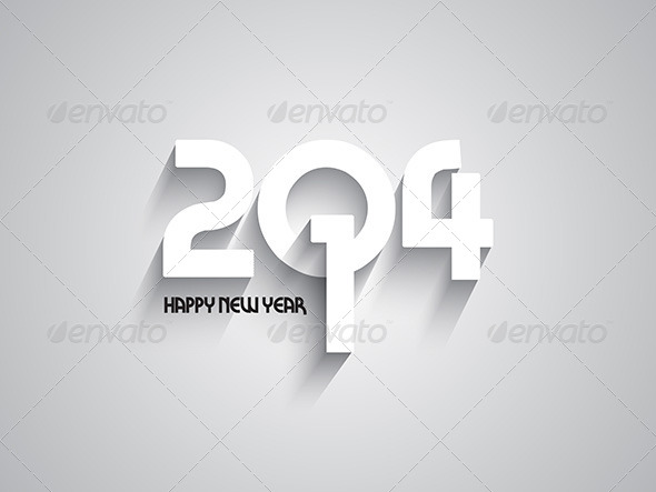 GraphicRiver Happy New Year Background 6421837