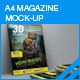 Magazine Mock-up - GraphicRiver Item for Sale