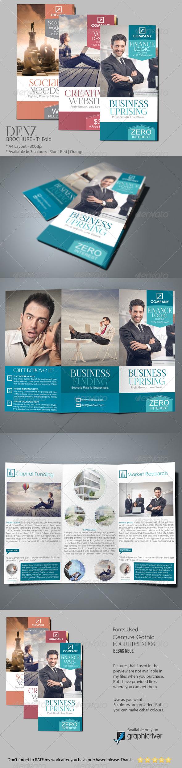 GraphicRiver DENZ Business Brochure 6421898