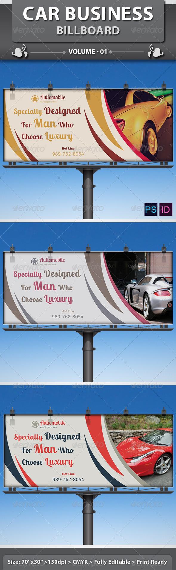 GraphicRiver Car Business Billboard v1 6421983