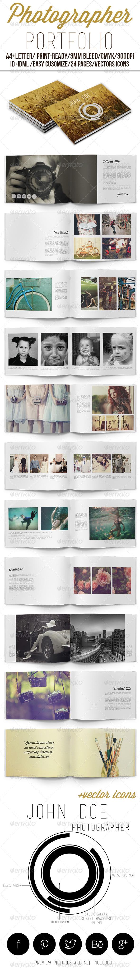GraphicRiver Photographer Portfolio 6422077