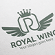 Royal Wing Letter R Logo - GraphicRiver Item for Sale