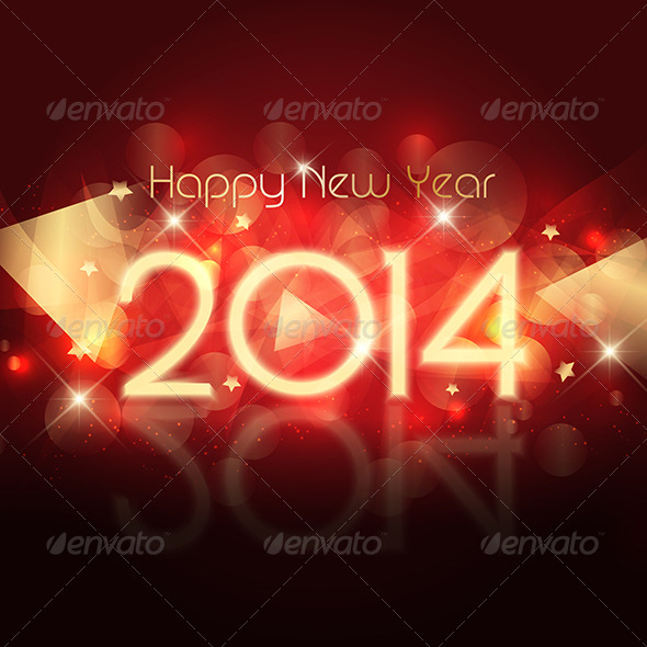 GraphicRiver Happy New Year Background 6422256