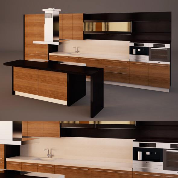 3DOcean Kitchen Set 6422283