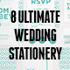 Ultimate 8 Wedding Stationery Sets Vol.1 - GraphicRiver Item for Sale