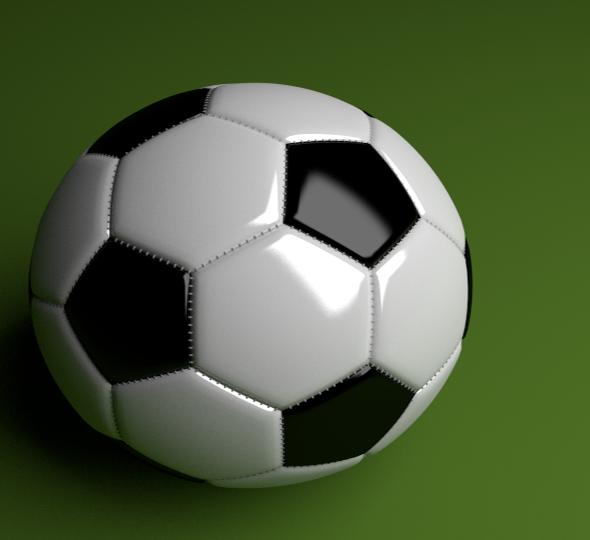 3DOcean Football Ball 6422396