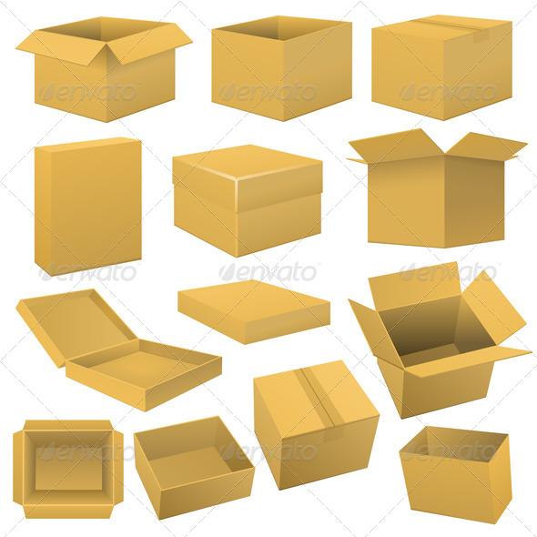 GraphicRiver Box Set 6422412