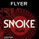 Smoke Night | Party Flyer - GraphicRiver Item for Sale