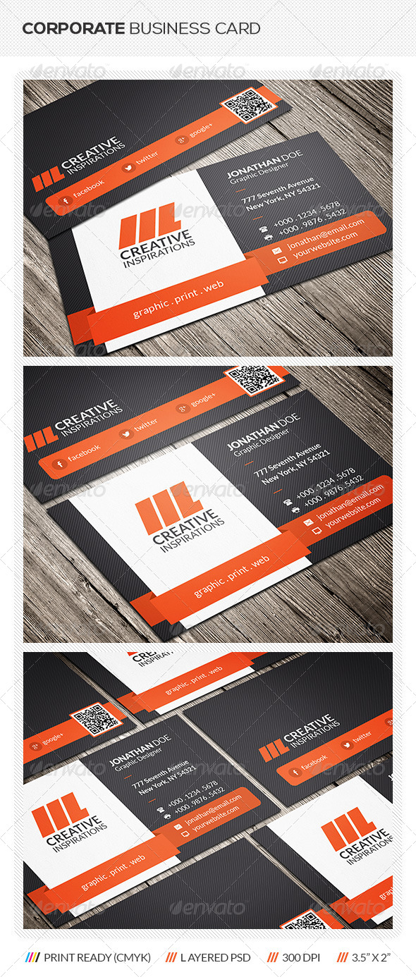 GraphicRiver Creative Corporate Business Card 6422889