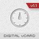 Digital vCard/Portfolio Template  Free Download
