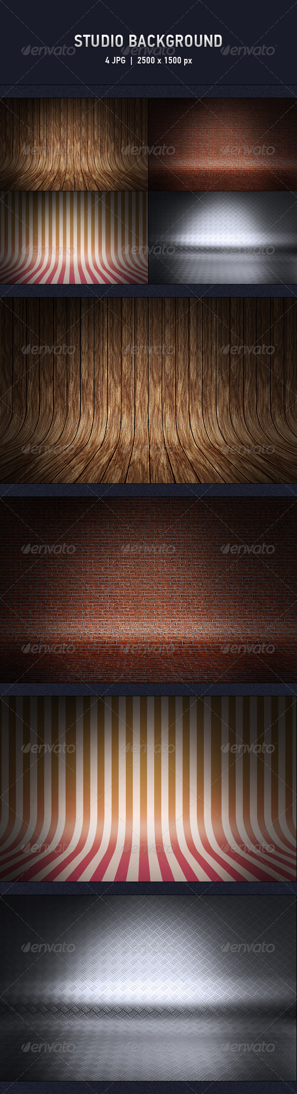 GraphicRiver Studio Background 6423252