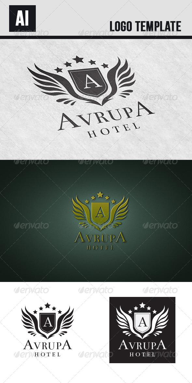GraphicRiver Avrupa Hotel Logo 6423262