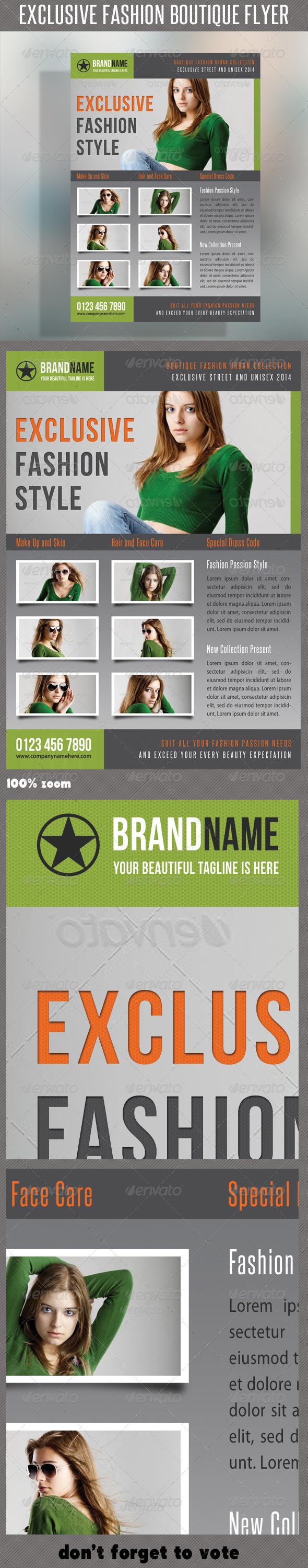 GraphicRiver Fashion Product Flyer 25 6423277
