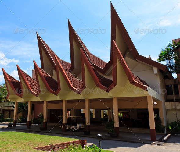 Malay style architecture - Stock Photo - Images