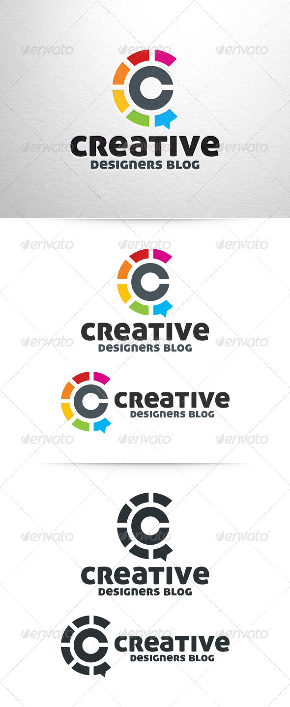 GraphicRiver Creative Blog Letter C Logo 6423680