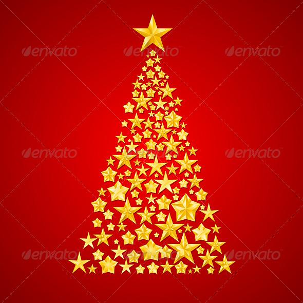 GraphicRiver Christmas Tree 6423979