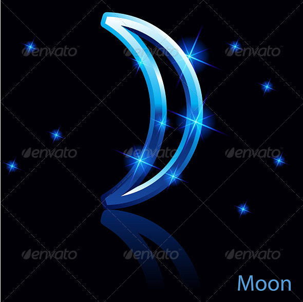 GraphicRiver Moon Sign 6423987