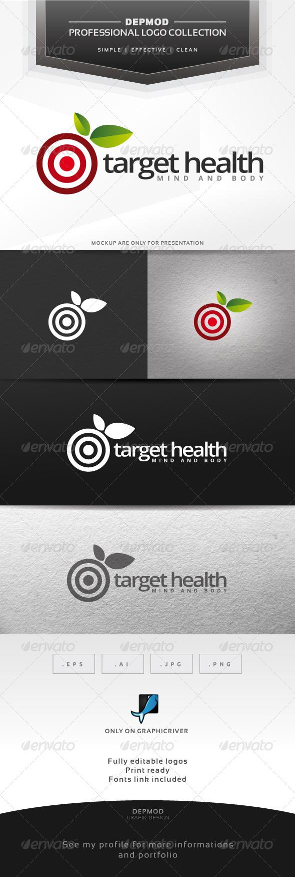 GraphicRiver Target Health Logo 6424083