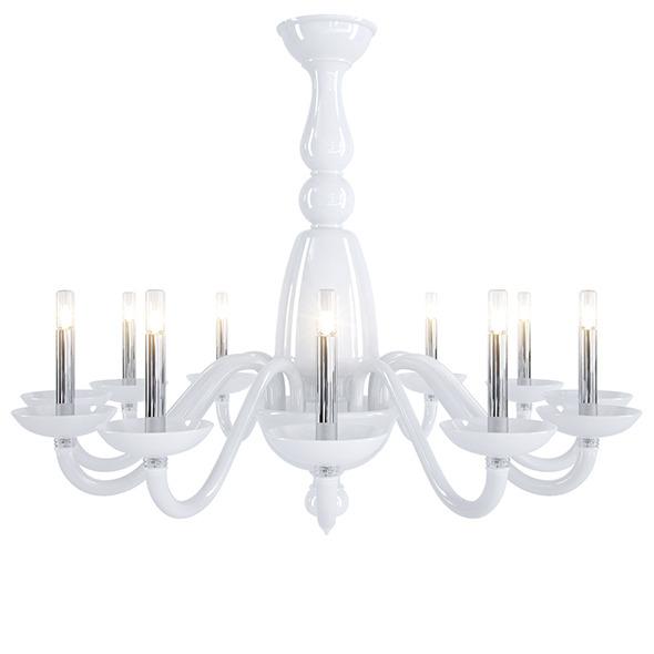 3DOcean Barovier&toso Palladiano chandelier 6424274