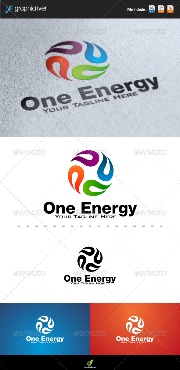 GraphicRiver Energy Logo Template 6419425