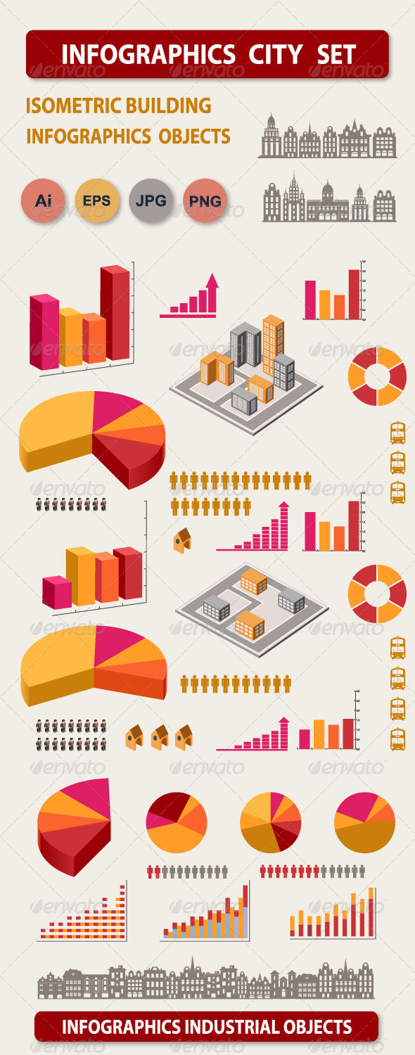 GraphicRiver Infographics Elements 6424459