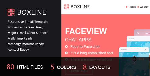 ThemeForest Boxline Responsive E-mail Template 6424509
