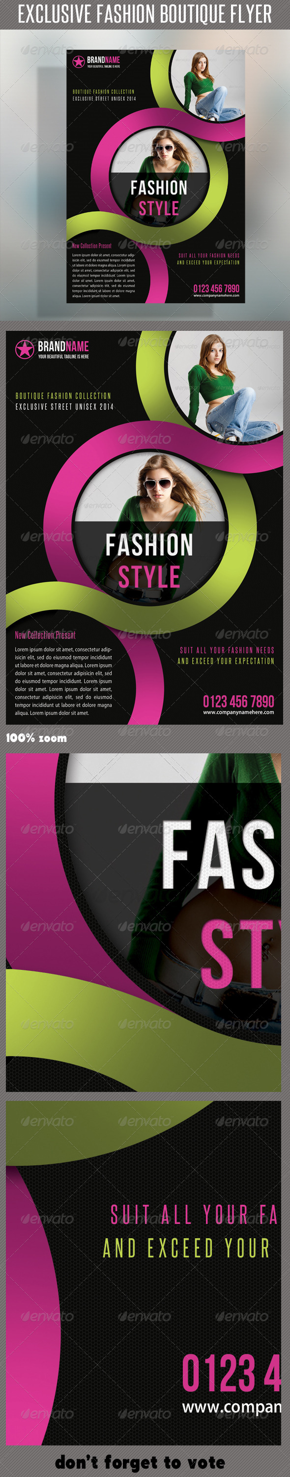 GraphicRiver Fashion Product Flyer 26 6424577