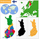 Finland Map - GraphicRiver Item for Sale