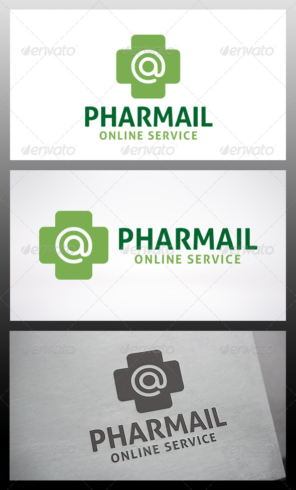 GraphicRiver Pharmacy Mail Logo 6424710