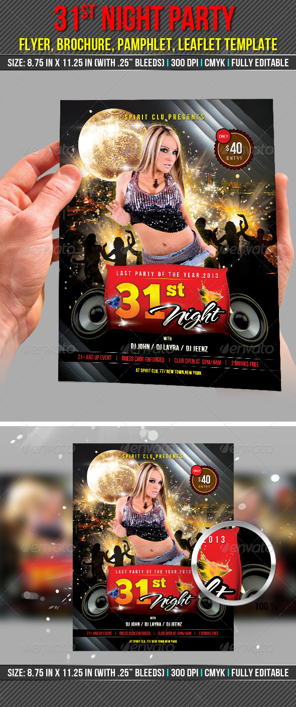 GraphicRiver 31st Night Party Flyer 6424714