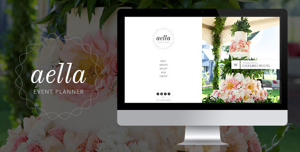 Aella :: PSD Template for Event Planners