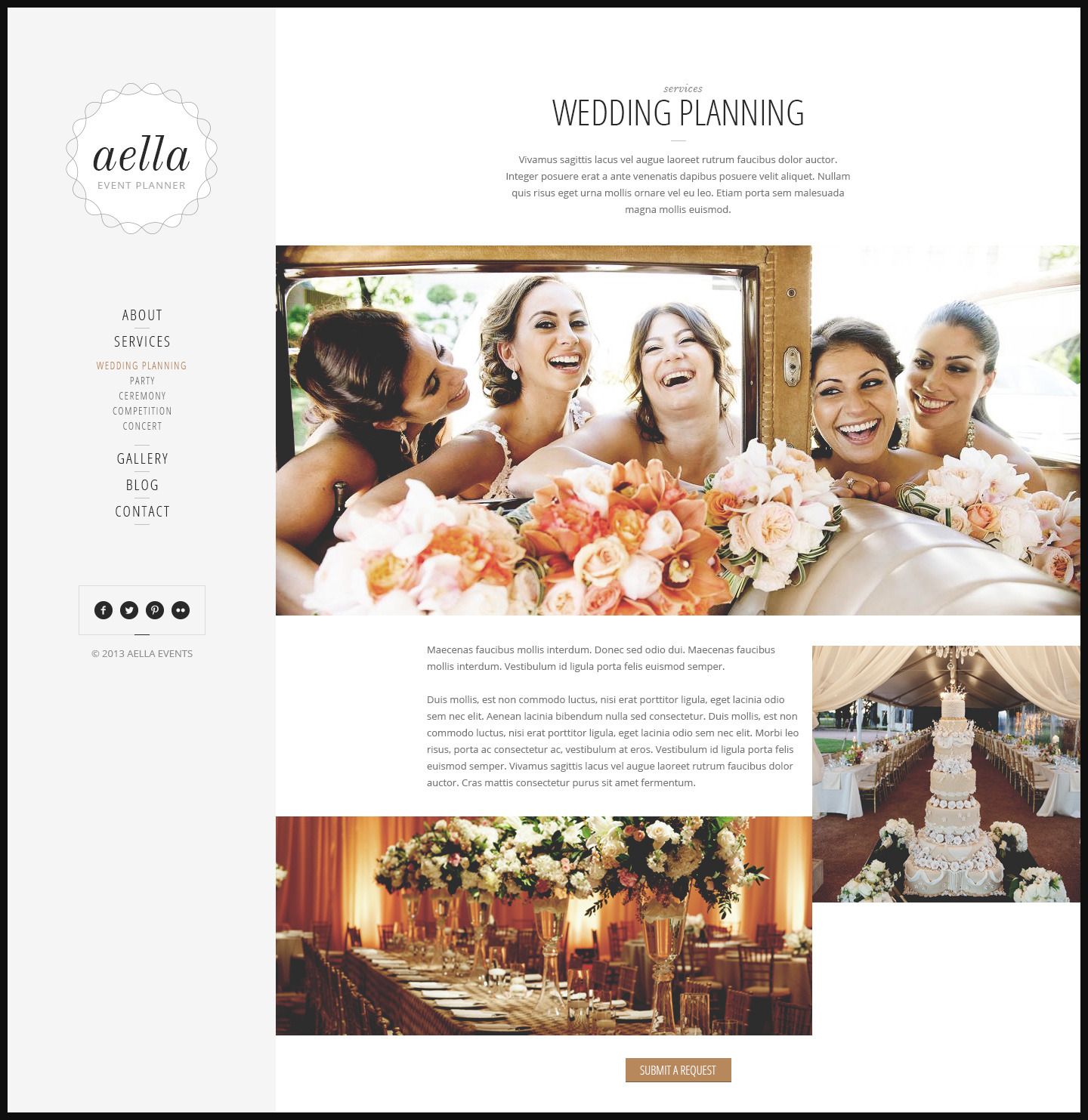preview wedding planner collection