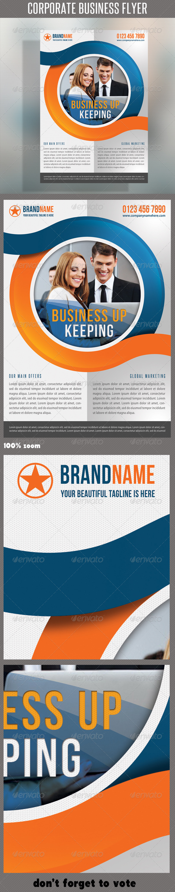 GraphicRiver Corporate Product Flyer 53 6425372
