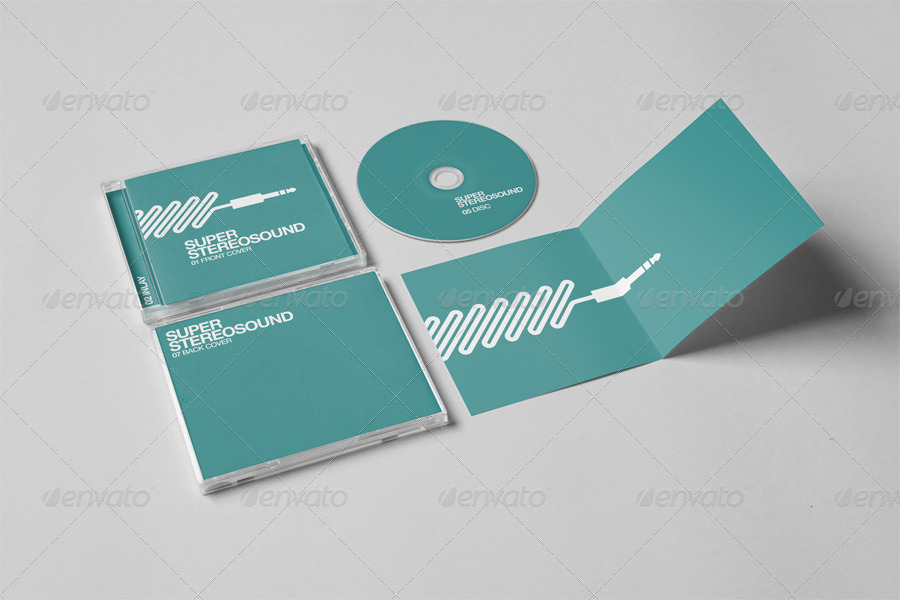 realistic cd jewel case mock up by yooken graphicriver