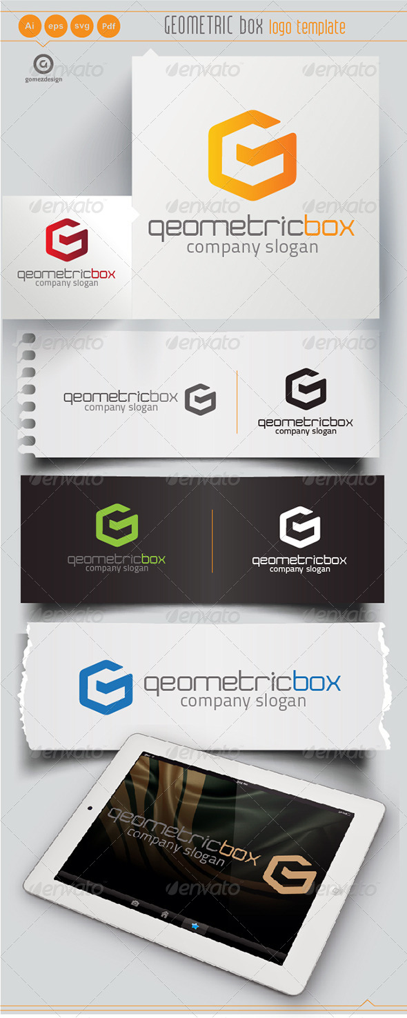 Geometric Box - Logo Templates