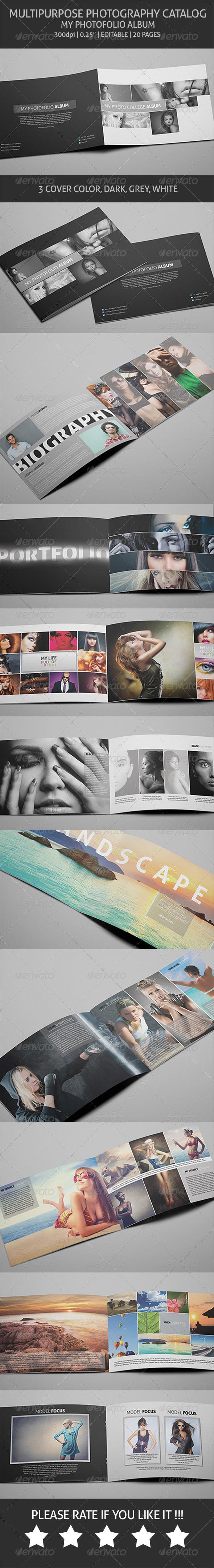 GraphicRiver My Photofolio Album Multipurpose Catalog 6394778
