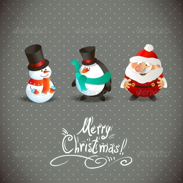 GraphicRiver Christmas Characters 6425846