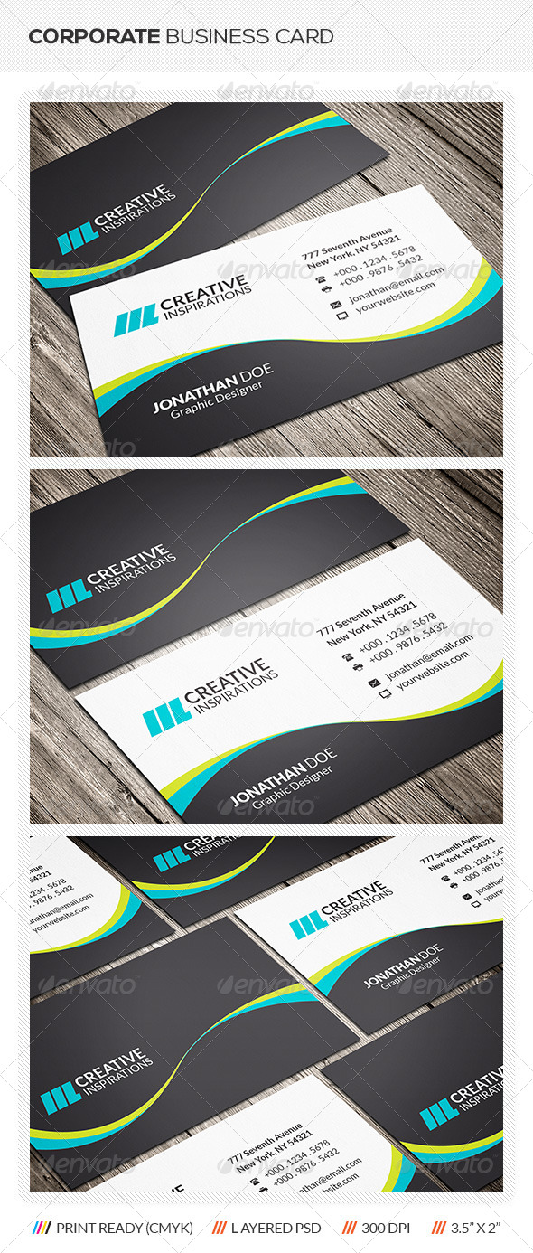 GraphicRiver Creative Corporate Business Card 6426795