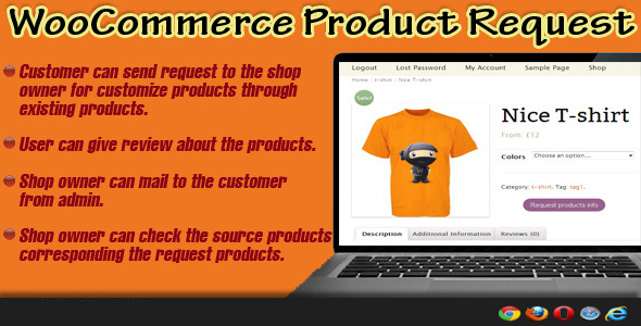 CodeCanyon WooCommerce Product Request Plugin 6401881