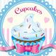 Cupcakes Retro Menu Flyer - GraphicRiver Item for Sale