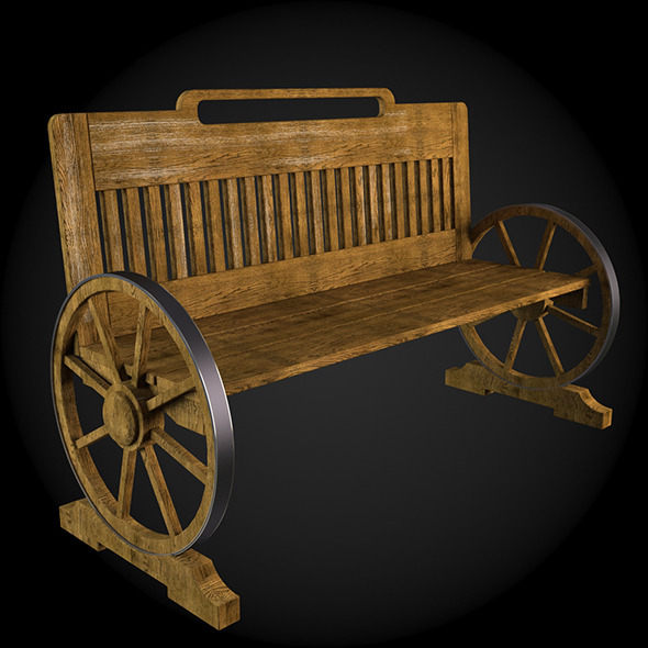 Garden Furniture 026 - 3DOcean Item for Sale