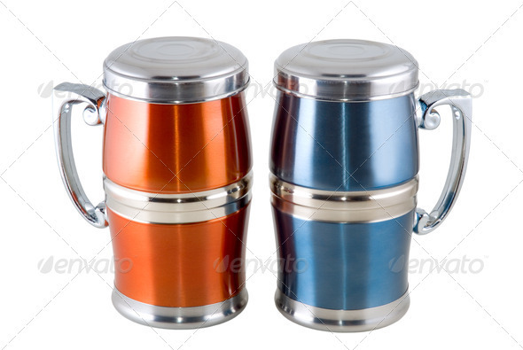 Travel cup - Stock Photo - Images