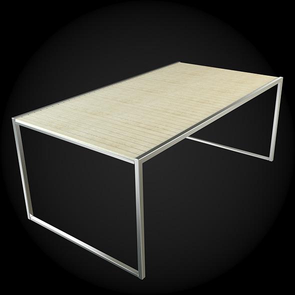 Garden Furniture 031 - 3DOcean Item for Sale