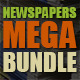 10 Newspapers Mega Bundle - GraphicRiver Item for Sale