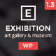 Exhibition WP - Photography/Art  Landing page - ThemeForest Item for Sale