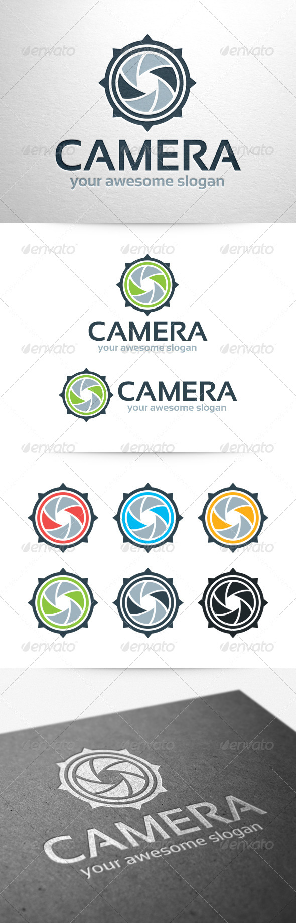 GraphicRiver Camera Logo Template 6429018